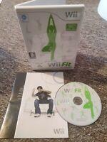 Wii Fit - Nintendo Wii/Wii U Fitness Game - No Balance Board - FAST & FREE P&P!