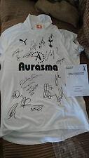 2011-2012 Tottenham Hotspur Spurs Signed Shirt Jersey - Official COA Hologram
