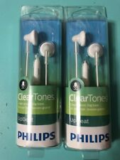 Philips SHE3015WT In-Ear Headphone with Microphone - White