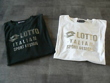 Lot de 2 tee shirts LOTTO Taille L