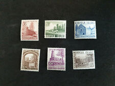 Norfolk Island QEII 1953 Set To 5/- SG13/18 MH  CS84