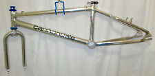 "rare nos midschool bmx Cannondale USA 20"" pro XL frame fork gt tnt cw boss pmc"