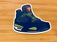 Nike Air Jordan 4 IV Retro DB 'Doernbecher' - Shoe Sneaker Sticker Decal