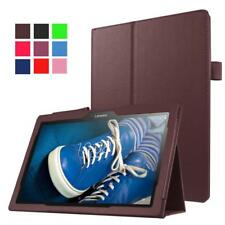 """Magnetic Smart Cover Leather Book Stand Case For Lenovo E10 10.1"""" Inch Tablet"""