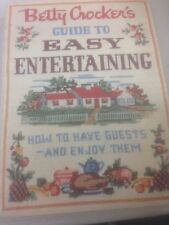 Betty Crocker's Guide To Easy Entertaining Cookbook Spiral Hardcover Cook book
