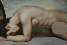 "24""x36"" Art prints canvs from oil painting male nude young men 200 photos listed"