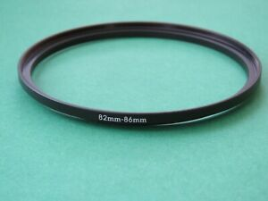 82mm-86mm Stepping Step Up Male-Female Filter Ring Adapter 82mm-86mm