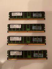 HP 16GB 4x4GB 4Rx4 PC2-4200P-444-12-ZZ DDR2 CL5 ECC Server Memory RAM