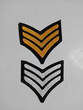 Parche bordado para coser estilo Militar 7/7,5 cm adorno ropa personalizada