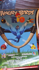2011 SDCC COMIC CON EXCLUSIVE FOX POSTER ANGRY BIRDS RIO ONLY 2000 PRODUCED