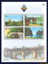2003 THAILAND STAMP BANKGKOK SHOW TOURIST SITE  SOUVENIR SHEET S#2066a MNH FRESH