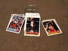 COMPLETE 1992-93 UPPER DECK McDONALD'S BASKETBALL CARD SET - 51 CARDS - SHAQ, MJ