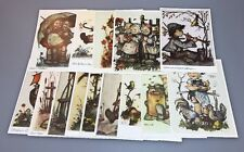 Lot Of 14 Hummel Postcards Unused Children German Signed
