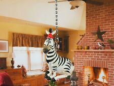 Dreamworks Madagascar Marty Zebra Ceiling Fan Pull Light Lamp Chain Decor