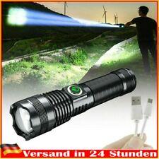 20000 Lumen XHP70 Wiederaufladbare Leistungsstärkste LED-Taschenlampe USB DHL