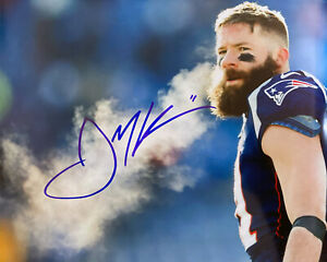 Julian Edelman New England Patriots Signed 8x10 Autographed Photo Reprint