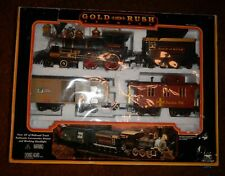 New Bright Gold Rush Express G-Scale Train Set #186 - Preowned in box