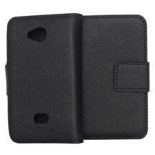 Bookstyle Case Tasche für Nokia Lumia 503 schwarz Etui Hülle mit Kartenfächer