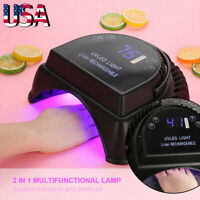 Professional 64W LED UV Nail Dryer Gel Polish Lamp Salon Curing Manicure Machine