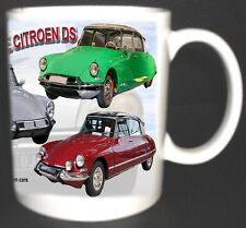 CITROEN DS CLASSIC CAR MUG.LIMITED EDITION.TOP GIFT SERIES 1 AND 2 1955-1975
