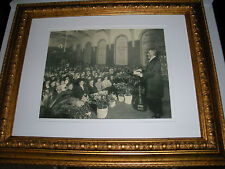 1910 Photo Pastor Russell Brooklyn Tabernacle IBSA Watchtower Jehovah