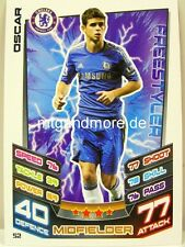 Match Attax 2012/13 Premier League - #052 Oscar - Chelsea