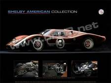 """SIGNED! Shelby Museum poster Ford GT40 (18""""x24"""") sold by BRE"""