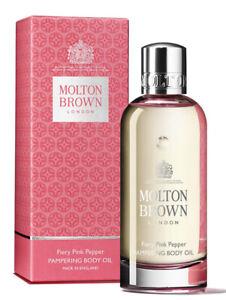 Molton Brown Fiery Pink Pepper Pampering Body Oil 100ml
