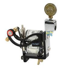 Pro Custom Shader & Liner Tattoo Gun Machine 10 Wrap Coils Set Equipment Durable