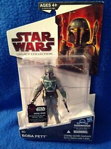 Star Wars Legacy Collection Boba Fett Action Figure Hasbro Brand-New!