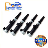 PENCIL IGNITION COIL X 4 FITS RENAULT CLIO LAGUNA MEGANE SCENIC GRAND SCENIC NEW