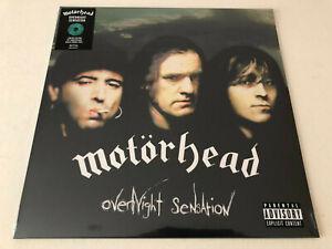 Motörhead: Overnight Sensation (25th Anniversary Edition) LP, GREEN SMOKE Vinyl