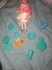 Vintage Kenner Wish World Kids Tv Playset 1980s park Accessories Pink Hair Doll