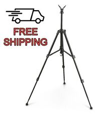 Tripod Shooting Stick Rest Gun Rifle Stand Hunting Adjustable Compact Portable