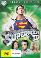 SUPERMAN III Deluxe Edition DVD R4 - PAL - New