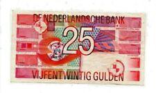Netherlands Banknote 25 Gulden 1989 crisp    F