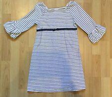 Gymboree Navy Blue And White Stripe Dress Girls Size 5