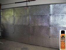 2 Car Garage Door Insulation Kit R 7.5 Fits 16x7 & 16x8 (Includes Gorilla Glue)