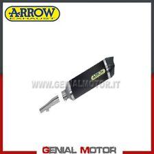 Terminale di Scarico + Raccordo Arrow R. Tech Carbon Honda Nc 700 X 2012 > 2013