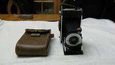 Vintage AGFA Ansco PB 20 Plenax Folding Camera Binghamton NY With Leather Case