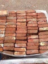 Reclaimed Hand Made Orange 2 Inch Tudor Bricks