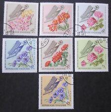Togo 1966 + Äqu.Guinea  Blumen  2 Sätze gestempelt  2 Bilder