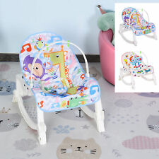 Babywippe Babywiege vibrierende Schaukelwippe mit Musik 2 Muster ABS
