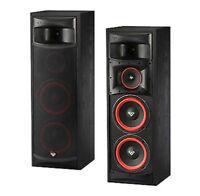 "Pair Cerwin Vega XLS-28 Dual 8"" 3 Way Floor Standing Tower Speakers 250 Watt NEW"