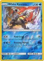Pokemon TCG White Kyurem 63/214 Sun & Moon Lost Thunder Rare REVERSE HOLO NM/M