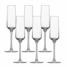 Schott Zwiesel Serie pure Sektglas Inhalt 209 Ml Sekt