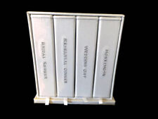 Wedding Photo Album Set 4x6 4 Albums Shower Rehearsal Wedding Honeymoon Box