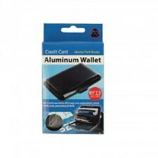 Aluminum Hard Shell Credit Card Case Wallet RFID Blocking