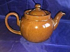 Vintage Brown Betty Teapot ~ ALB  ~ Alcock, Lindley & Bloor