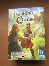 Ralf Burkert's Highland Clans game by Queen Games. Pre-owned but complete.